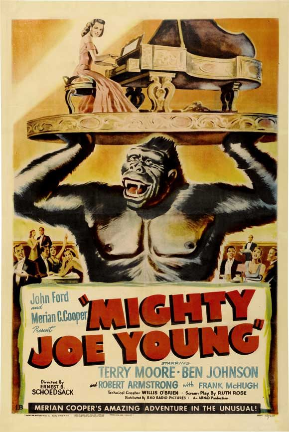 Mighty Joe Young. A 1940s film but I loved watching it in black and white on tv when I was little.
