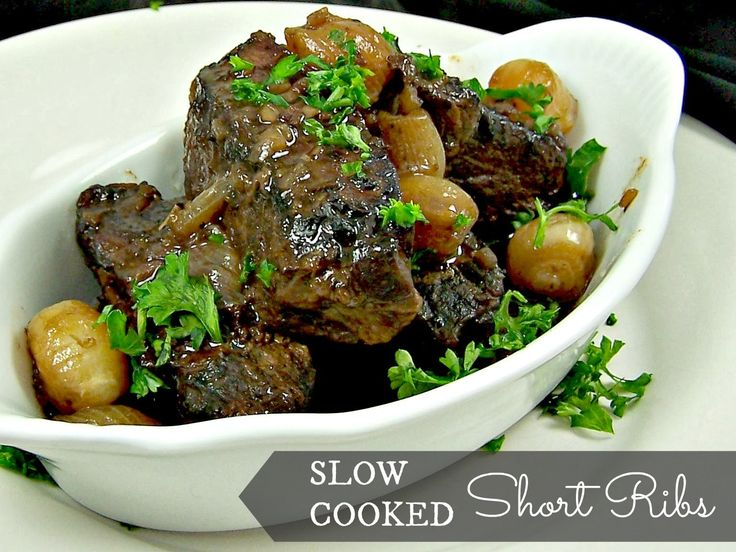 Olla-Podrida: Slow Cooked Short Ribs