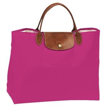 Longchamp Le Pliage Handbag - PINK