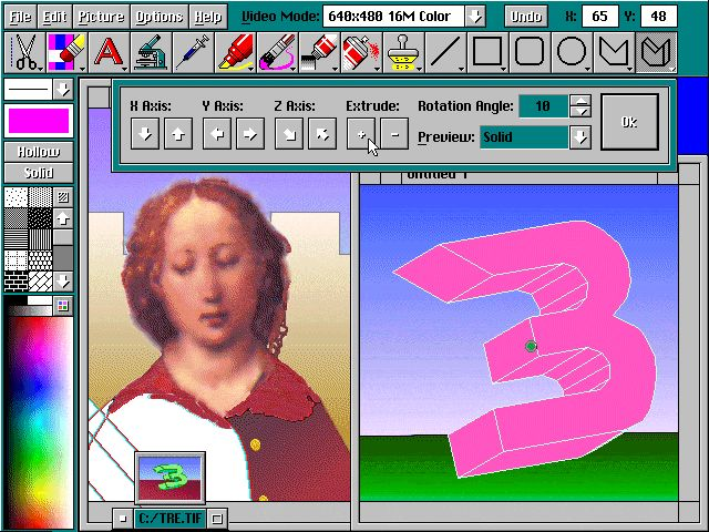 Neopaint for DOS