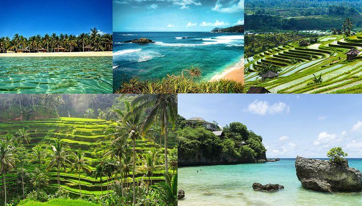 Bali plus belle île au monde plage sable blanc mer turquoise crique sauvage jungle rizière, île en asie http://www.vogue.fr/voyages/hot-spots/diaporama/les-plus-belles-les-du-monde/21391#les-plus-belles-les-du-monde-3