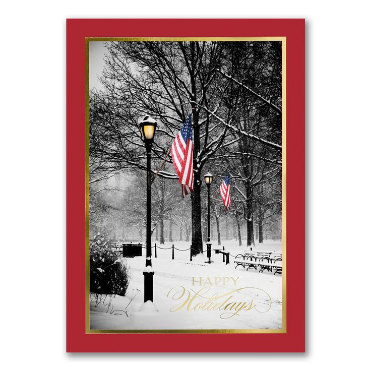 23 best Patriotic Holiday Cards images on Pinterest | Christmas ...