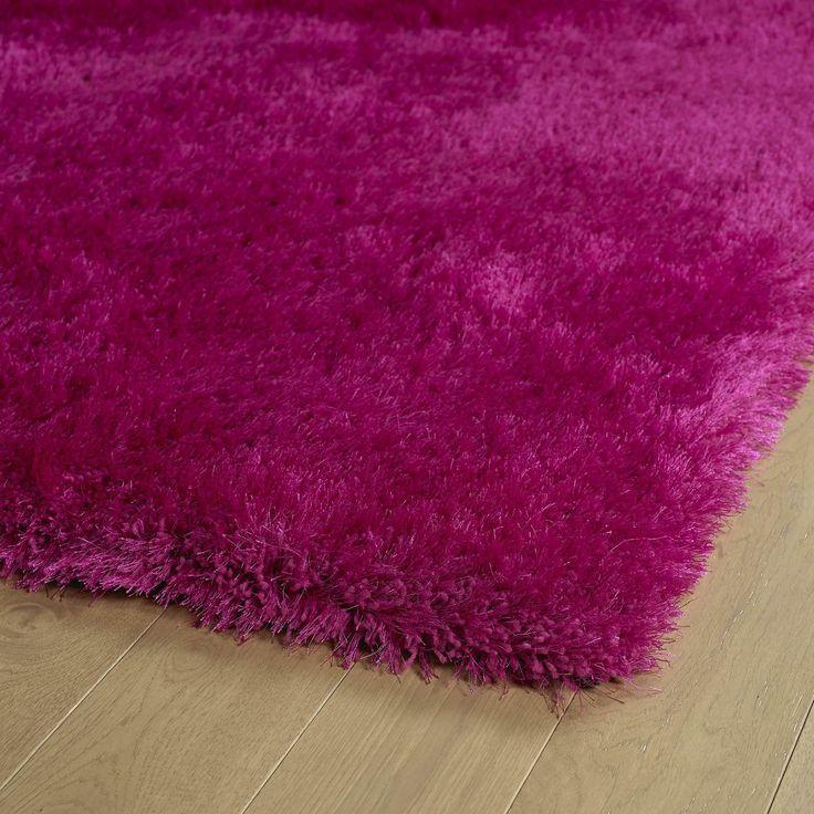 kaleen rugs posh collection psh0192 pink shag rug