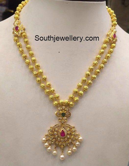 32 Grams Antique Gold Necklace
