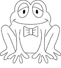 frog coloring pages - Colouring Pages For Preschoolers