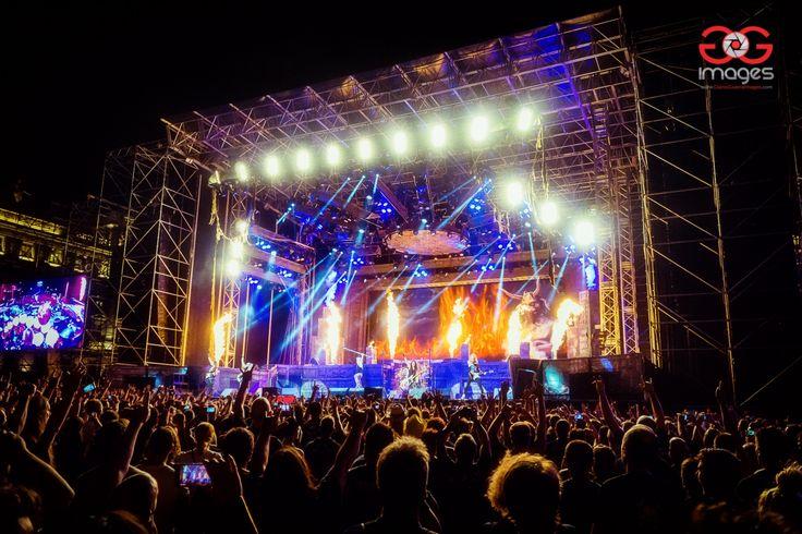 Iron Maiden a Trieste 27.07.2016