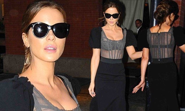 Kate Beckinsale is sexy as she seen for first time since divorce filed