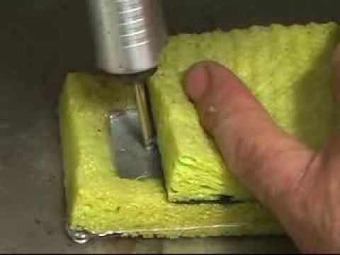 How to drill glass | Glass drilling - YouTube