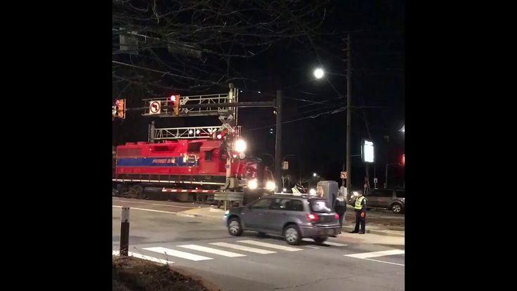 Night Train in Woodstock Georgia