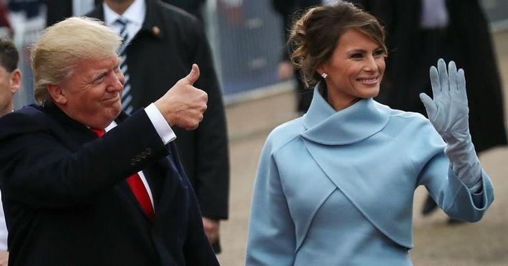 Ex-modelo e mulher do atual presidente dos EUA, Donald Trump, ela sabe usar a moda a seu favor