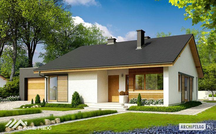 Casa la parter Rafael III G1. Case Mexi dispune de un numar de peste 1000 de planuri de case a caror constructie se realizeaza din structuri metalice si structuri de lemn de inalta calitate.