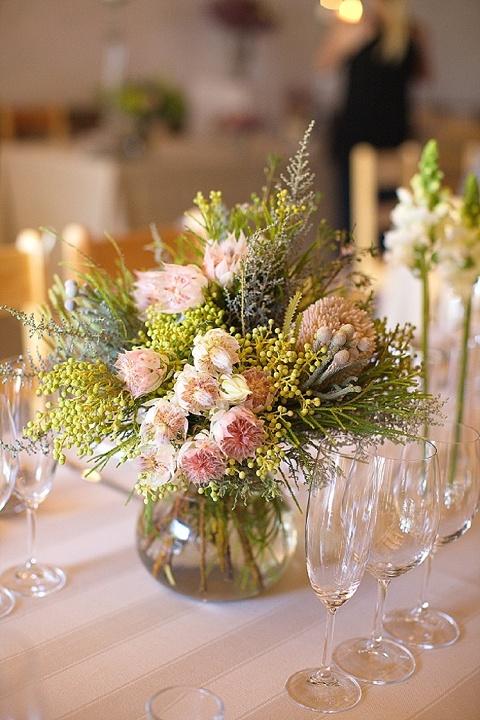 blushing bride & fynbos