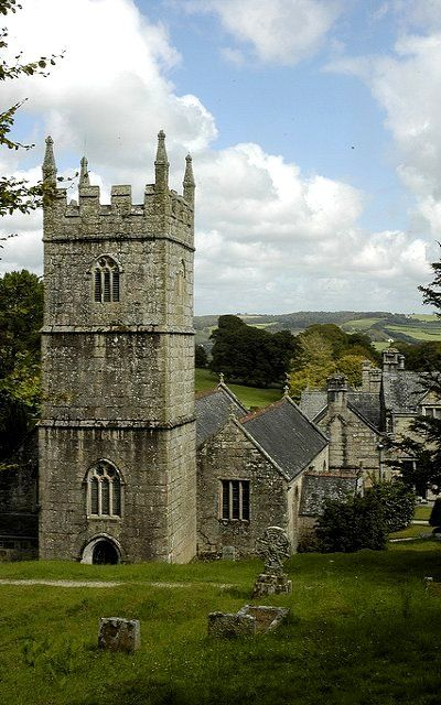 Lanhydrock church, Cornwall | Flickr - Photo by Paul Stainthorp