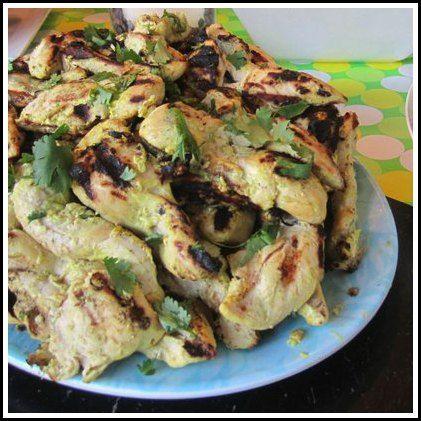Thai Chicken Satay with Peanut Sauce | Recipe