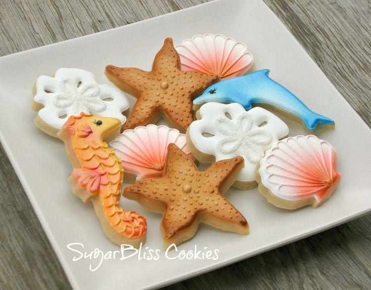 1000+ ideas about Seashell Cookies on Pinterest | Starfish ... - photo#44
