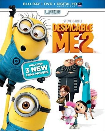 Steve Carell & Kristen Wiig & Chris Renaud & Pierre Coffin -Despicable Me 2