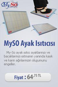 MySo Ayak Isıtıcısı www.dekorask.com