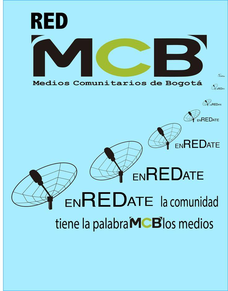 Behance :: Editing red MCB medios comunitarios piezas graficas