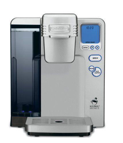 Cuisinart SS-700 Single Serve Brewing System, Silver - Powered by Keurig K-Cups #Keurig