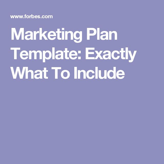 Best  Marketing Plan Template Ideas On   Digital