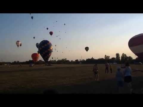 Hőlégballon Európa bajnokság Debrecen 2015 / Hot Air Balloning / - YouTube
