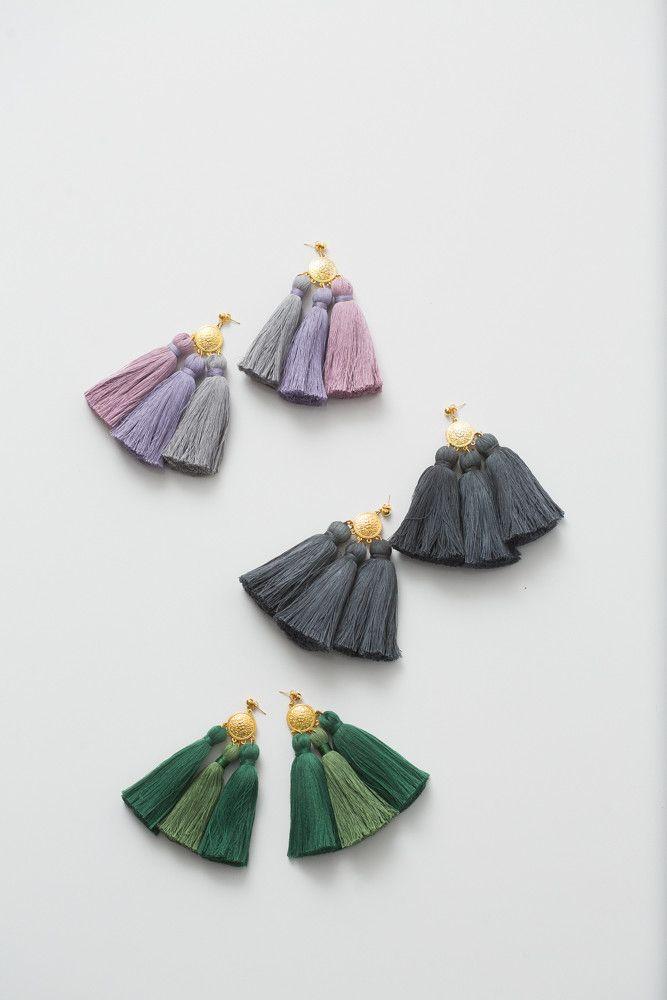 Hello Holiday · Tassel Earrings