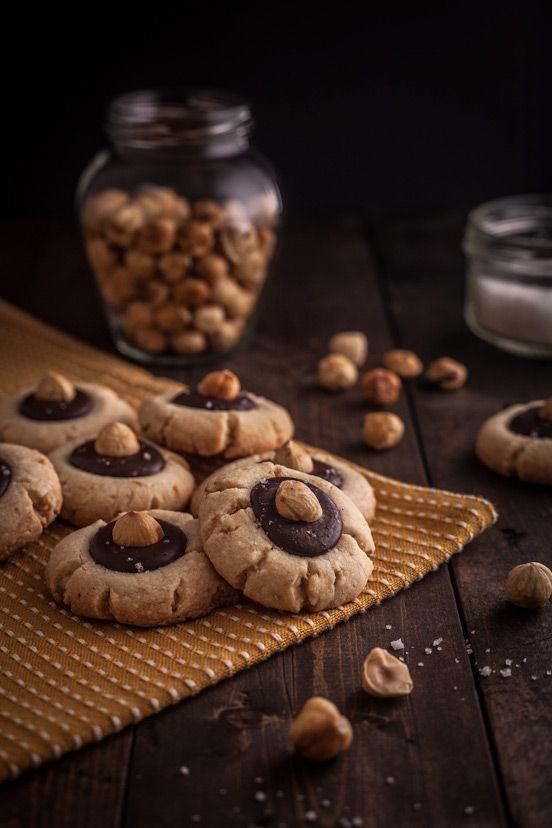 Hazelnut & Chocolate Sandies