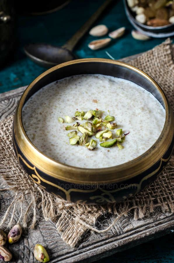 Broken Wheat Kheer / Godhumai Rava Payasam #jopreetskitchen #foodphotography #indianfood