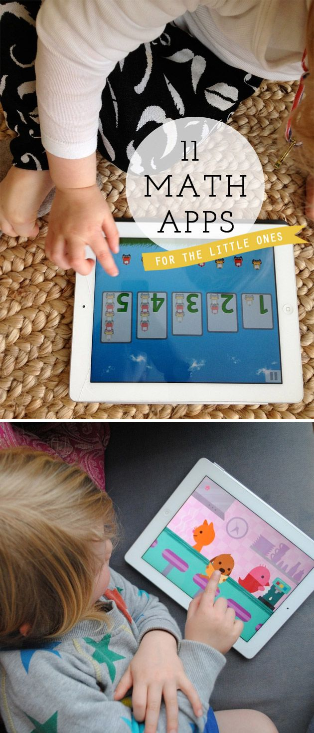 {11 Math Apps for Kids} *Great recommendations