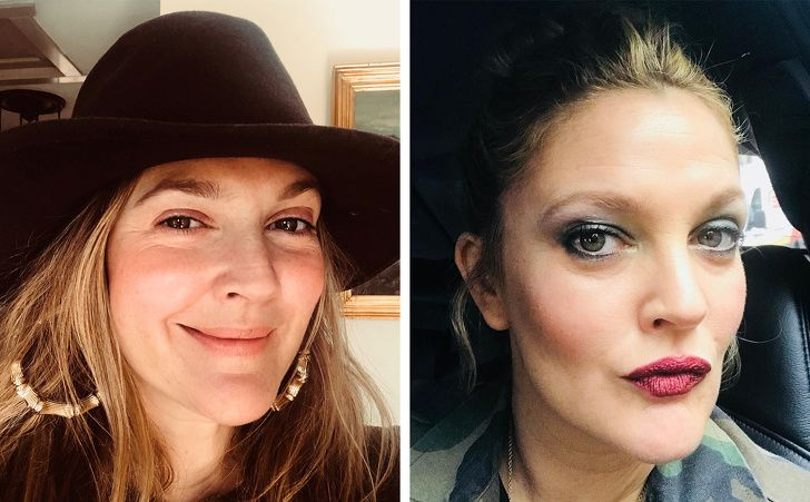 25 Celebrities With And Without Makeup In 2020 Celebs Without Makeup Without Makeup Celebrity Makeup