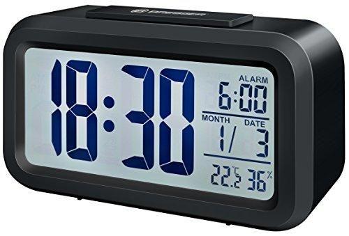 Oferta: 14.99€. Comprar Ofertas de Bresser MyTime - Reloj despertador con pantalla LCD, color negro (importado) barato. ¡Mira las ofertas!