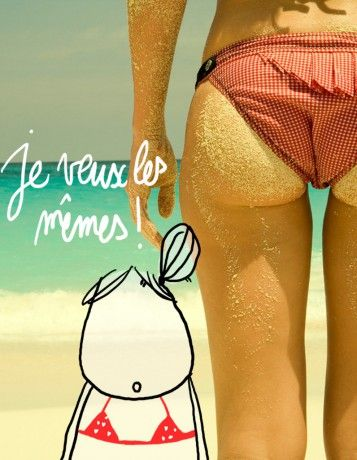 Les 10 réflexes à adopter pour un fessier parfait ! Illustration @Luna joulia http://www.elle.fr/Minceur/Dossiers-minceur/10-reflexes-a-adopter-pour-un-fessier-parfait