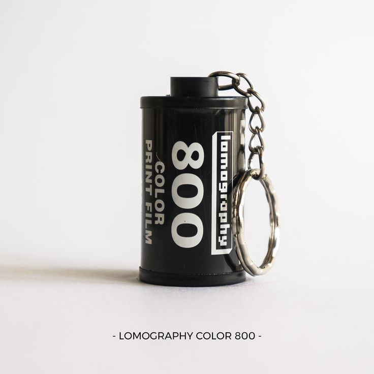 LOMOGRAPHY Color 800 | 35mm film photography | keychain