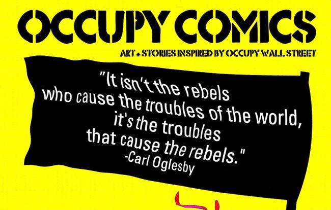 Buster Brown at the Barricades: Alan Moore scrive per il movimento Occupy