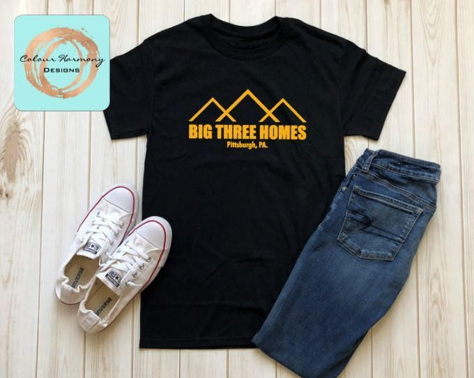 Excited to share the latest addition to my #etsy shop: This is US - Big Three Construction - T-Shirt http://etsy.me/2EkcTi7 #clothing #black #yellow #tshirt #thisisus #jackpearson #bigthree #big3 #pittsburgh