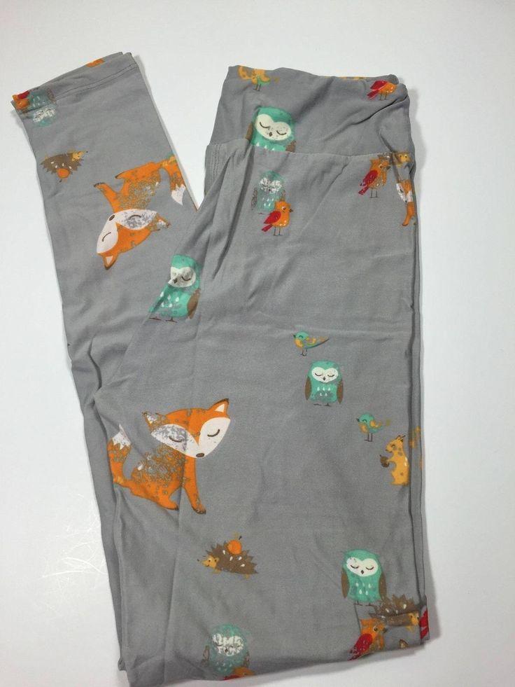 Omg need these. Lularoe leggings fox and owl. So cute. Need in one size. My unicorn.