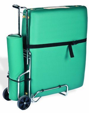 Designed for carrying around your table comfortably, Earthlite Table Cart is perfect for the mobile massage masseur. We offer Free Shipping on all our products in USA.