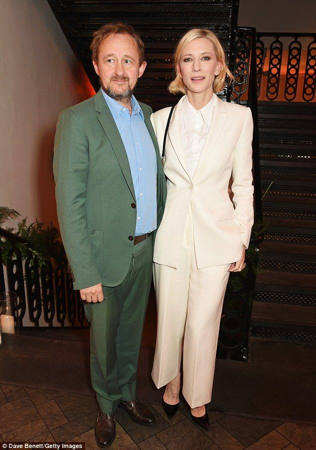 Date night delight! Cate Blanchett exuded heaps of glamour as she attended the Old Vic Sum...