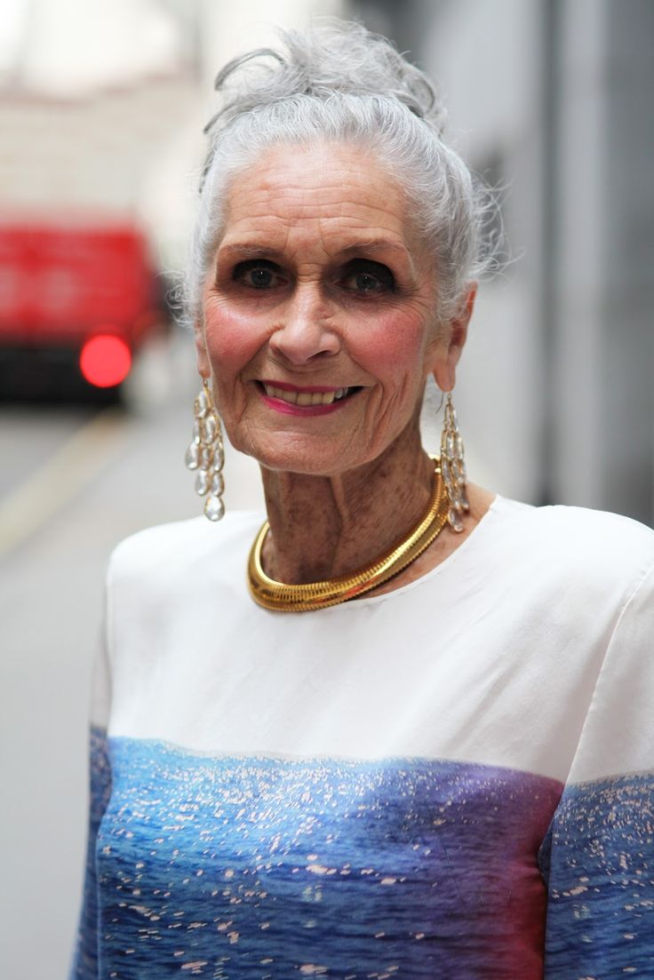 83 year old supermodel Daphne Selfe