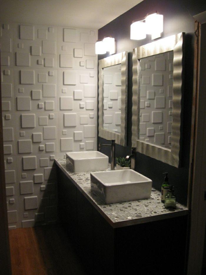 1000 id es propos de panneau salle de bains sur pinterest art mural sall - Outil 3d salle de bain ...