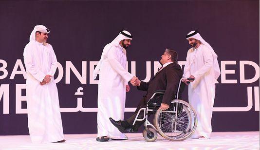 Dubai, UAE 13th Dec 2015, Launched in 2011 under the patronage of H.H. Sheikh Hamdan bin Mohammed bin Rashid Al Maktoum, Crown Prince of Dubai and Chairman of Dubai Executive Council, Dubai SME100 ... #middleeastarticle