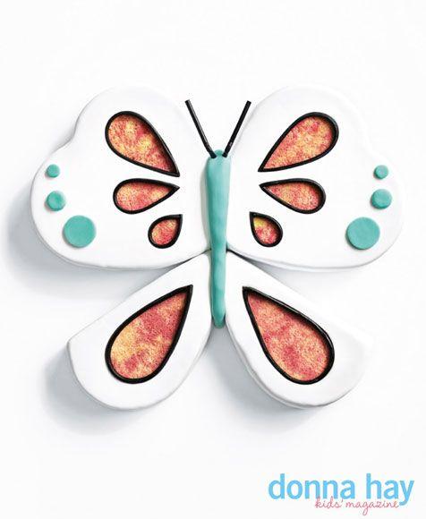 Butterfly cake pan recipe