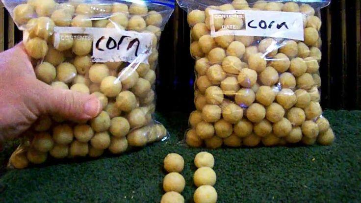 Carp Bait - Corn Bread Boilie