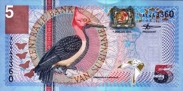 Suriname Billetes del mundo Suriname