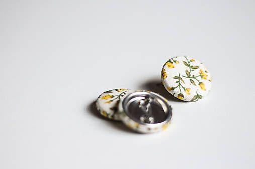 silvART / Kvetovaný odznak (žltý)