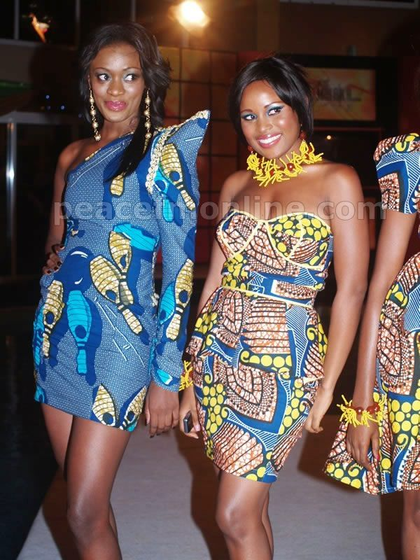The one on the right Smooth Productions NY: African Fashion Dresses