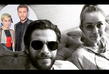 Liam Hemsworth gushes over Miley Cyrus on Instagram