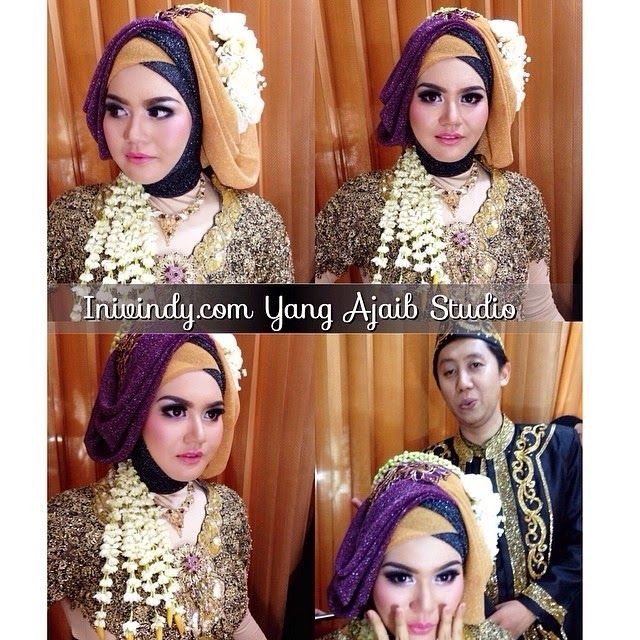My Portofolio : Wedding Make Up Muslimah, Riasan Pengantin Muslim