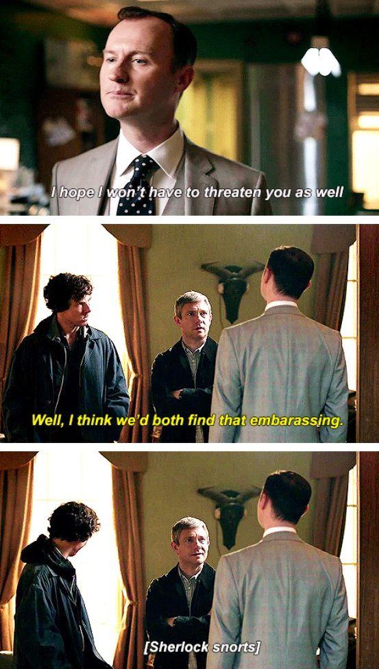 John watson. Mycroft. Sherlock