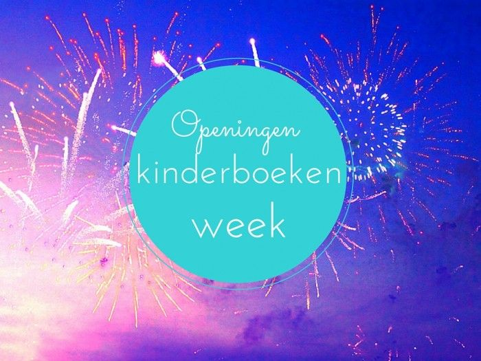 De eerste in de serie: Spetterende openingen kinderboekenweek 2015, met boekentips.